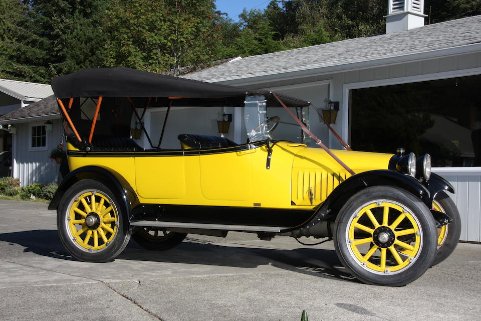 1915 Chalmers Six-48 Five Passenger Touring  Chassis no. 45876 Engine no. 29A94