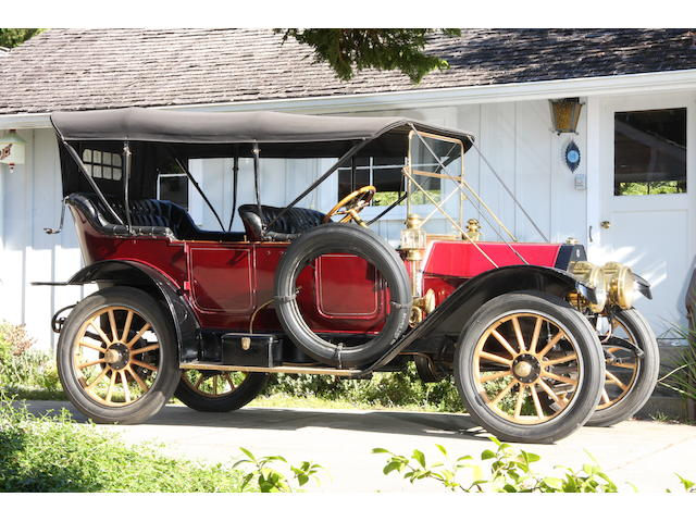 1911 Buick Model 39 Five Passenger Touring  Engine no. 824