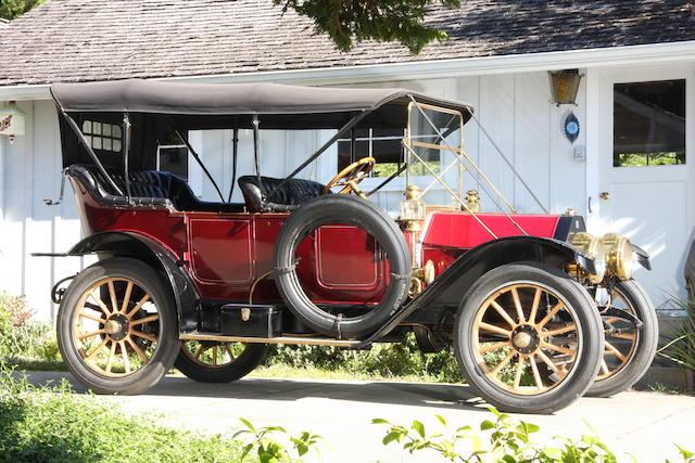 1911 Buick Model 39 Five Passenger Touring  Engine no. 824