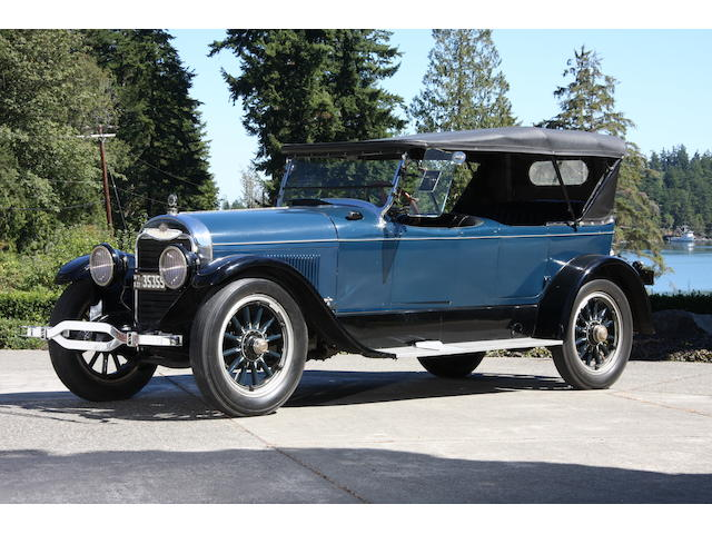 1922 Lincoln Model L Phaeton  Chassis no. 6447 Engine no. 6447