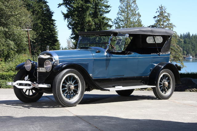 1922 Lincoln Model L Five Passenger Phaeton  Chassis no. 6447 Engine no. 6447