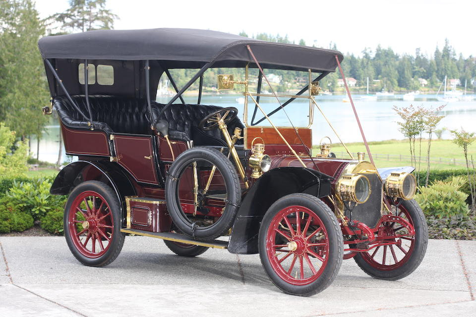 Ex-William Harrah,1907 Locomobile Model E Five Passenger Tourer  Chassis no. 1402 Engine no. 1664