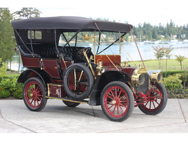 Ex-William Harrah,1907 Locomobile Model E 20hp 5-passenger Tourer  Chassis no. 1402 Engine no. 1664
