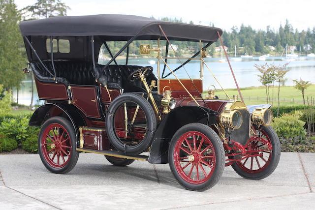 Ex-William Harrah,1907 Locomobile Model E 20hp 5-passenger Tourer  Chassis no. 1402 Engine no. 1664