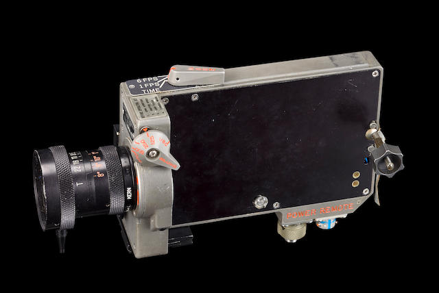 MOVIE CAMERA FROM THE LUNAR SURFACE.