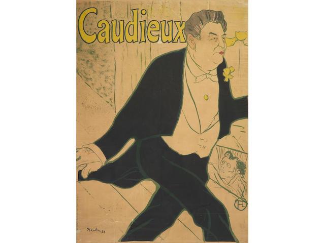 Henri de Toulouse-Lautrec (French, 1864-1901); Caudieux;