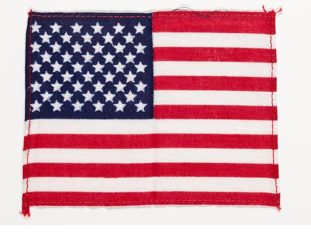 SOUTH POLE AND HADLEY RILLE-FLOWN FLAG.
