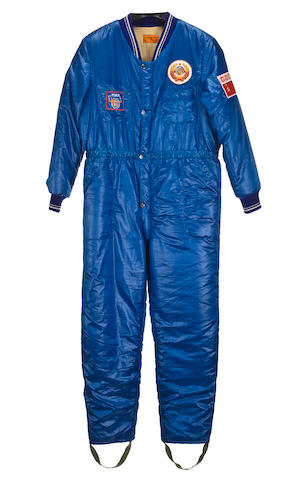 LEVCHENKO'S JUMPSUIT FROM SOYUZ TM-4.