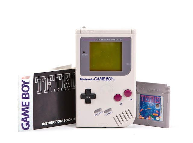 NINTENDO GAME BOY FLOWN IN SPACE.