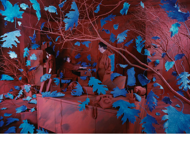 Sandy Skoglund (American, born 1946); A Breeze at Work;