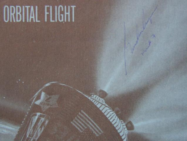 COOPER-SIGNED ORBITAL FLIGHT REPORT.