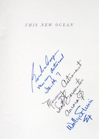 HISTORY OF PROJECT MERCURY—SIGNED.