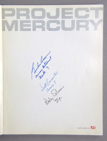 A SALUTE TO PROJECT MERCURY.