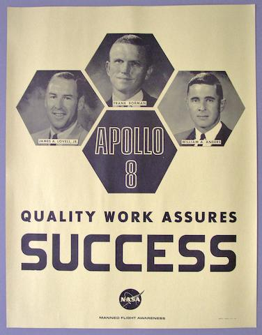 POSTER—APOLLO 8 SUCCESS.