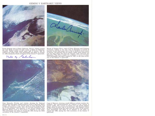 GEMINI 5 EARTH-SKY VIEWS.