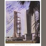 SATURN V ROLL OUT TO THE PAD—SIGNED.