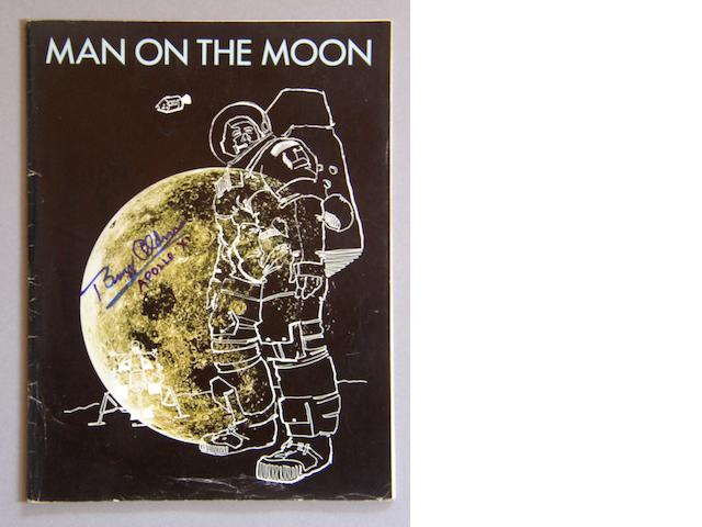 MAN ON THE MOON—NORTH AMERICAN ROCKWELL.