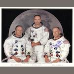 THE APOLLO 11 CREW.