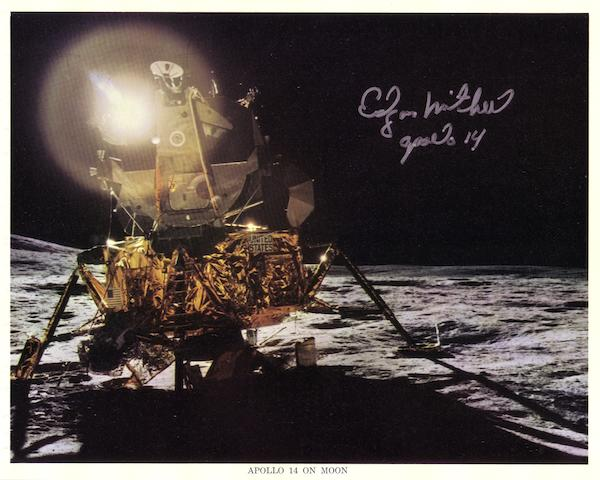 ANTARES ON THE MOON—SIGNED.