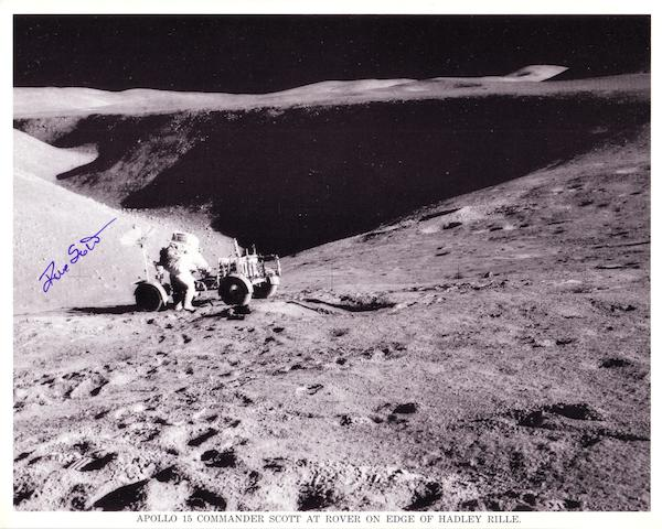 ROVER AND RILLE—SIGNED.