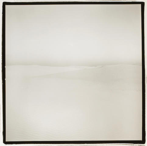 Richard Misrach (American, born 1949); Ground/Sky (White Sands);