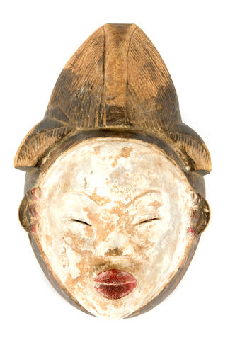 A Punu Mask, Democratic Republic of the Congo