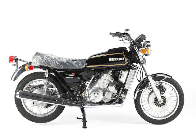 Zero-mile example of one of the rarest Japanese streetbikes,1977 Suzuki RE-5 Rotary Frame no. RE515866 Engine no. RE515299