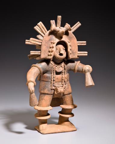 Colima/Jalisco Dancer, <br>Late Preclassic, ca. 300 - 100 B.C.