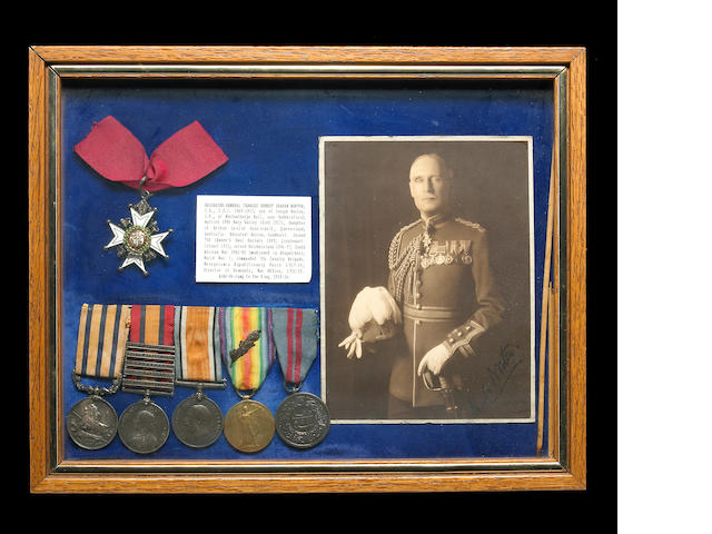 A British medal group for Brigadier-General charles Ernest Graham Norton