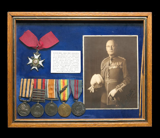 A British medal group for Brigadier-General charles Ernest Graham Norton