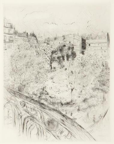 Edouard Vuillard (French, 1868-1940); Square Vintimille;