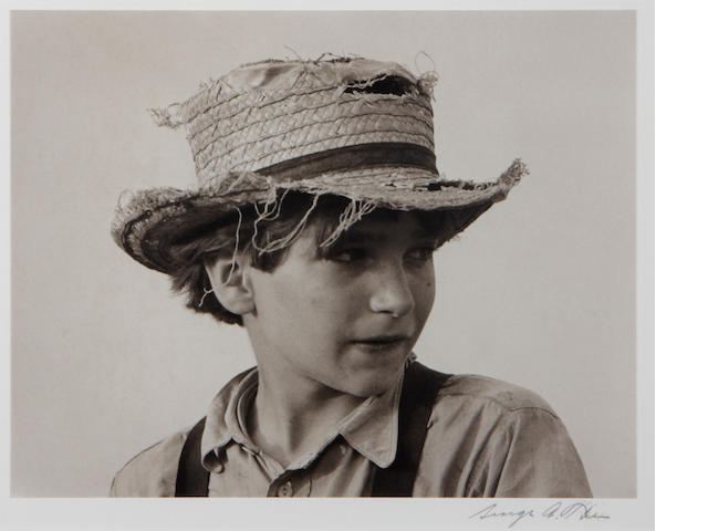 George Tice Amish Boy, 1962/later Gelatin silver print;