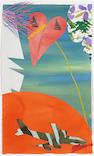 Billy Al Bengston (American, born 1934) Ka'ao Watercolor, 1983 31 x 19in