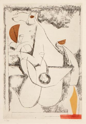 Marino Marini (Italian, 1901-1980); Miracolo;