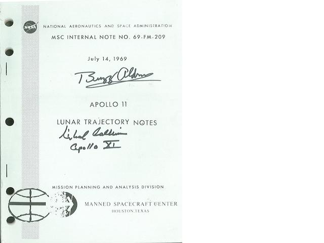 LUNAR TRAJECTORY NOTES FOR APOLLO 11.