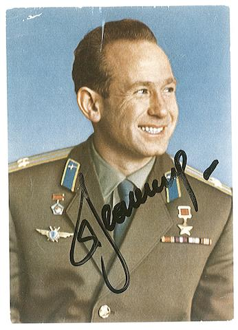 NEW YEAR'S GREETINGS FROM LEONOV.