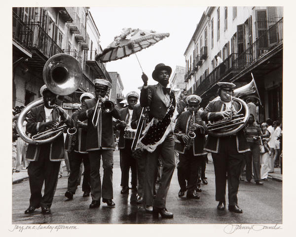 Johnny Donnels (6) Jazz and New Orleans silver prints;