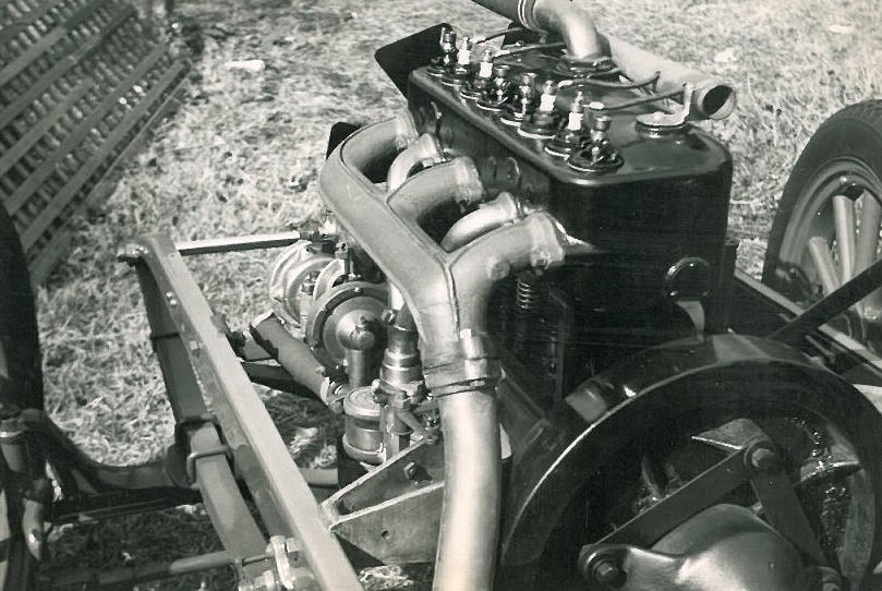 1912 Lambert Model 66 Five Passenger Touring  Engine no. 326