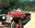 Ex-William Harrah,1920 Stutz Bearcat  Chassis no. 6425 Engine no. 6478