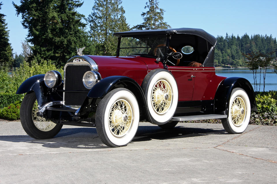 1923 Stutz Special Six Roadster  Chassis no. 400024