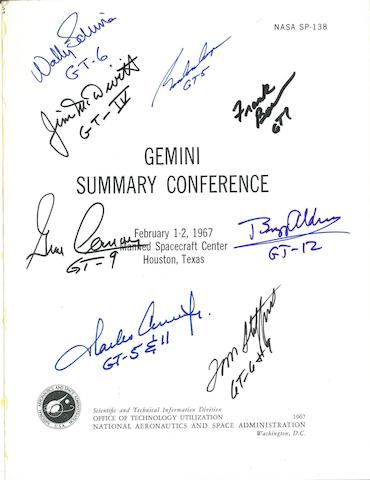 THE END OF GEMINI. Gemini Summary Conference. NASA SP-138. Washington: 1967.