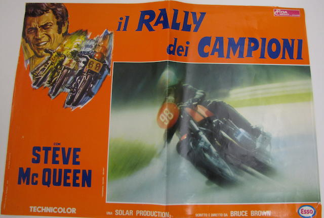 "A ""On Any Given Sunday"" movie poster, Italian version, 1972,"