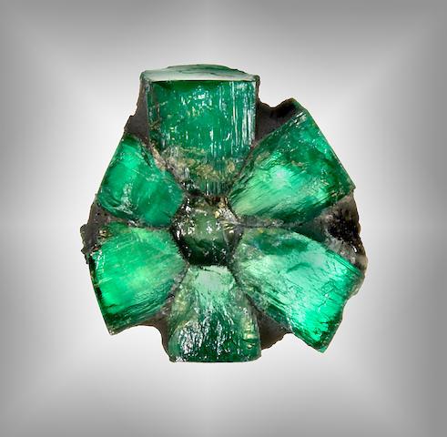 Rare Trapiche Emerald Crystal
