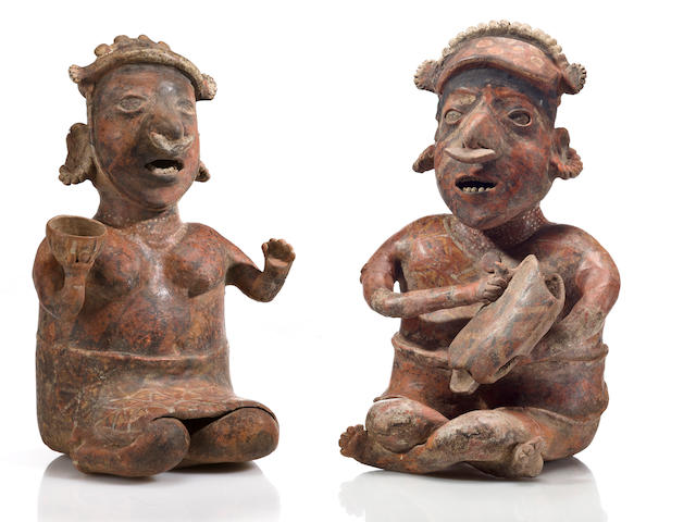 Large Seated Nayarit Couple