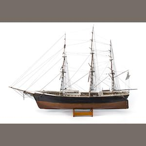 "A ship model ""Flying Cloud"""