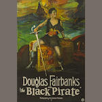 Black Pirate one sheet. 1926.