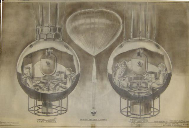 MAN HIGH, EXPLORER AND STRATO LAB.