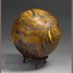 Tiger Iron Matrix Sphere
