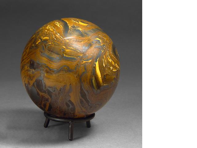Tiger Iron Matrix Sphere