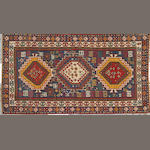 A Kazak rug Caucasus size approximately 3ft. 8in. x 6ft. 9in.